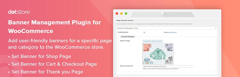 Banner Management Plugin for WooCommerce
