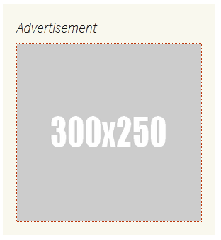 Banner upload 350x250 image ads output