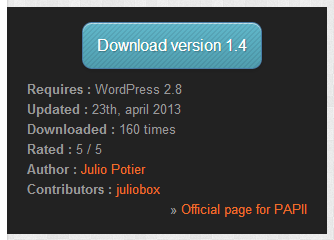 baw-papii-plugins-api-infos screenshot 1