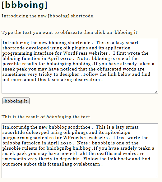 """Example of [bbboing form=y cols=80 text=""""some text""""]"""