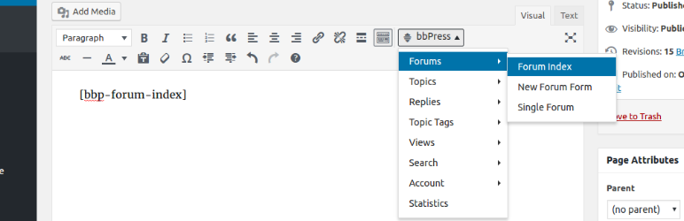 Displays TinyMCE dropdown button in the visual editor.
