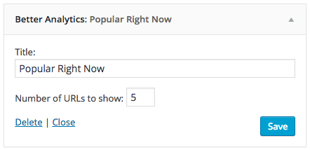 Better Google Analytics includes an optional front-end widget that shows popular pages/posts being viewed right now (data comes from Google Analytics Real Time API).