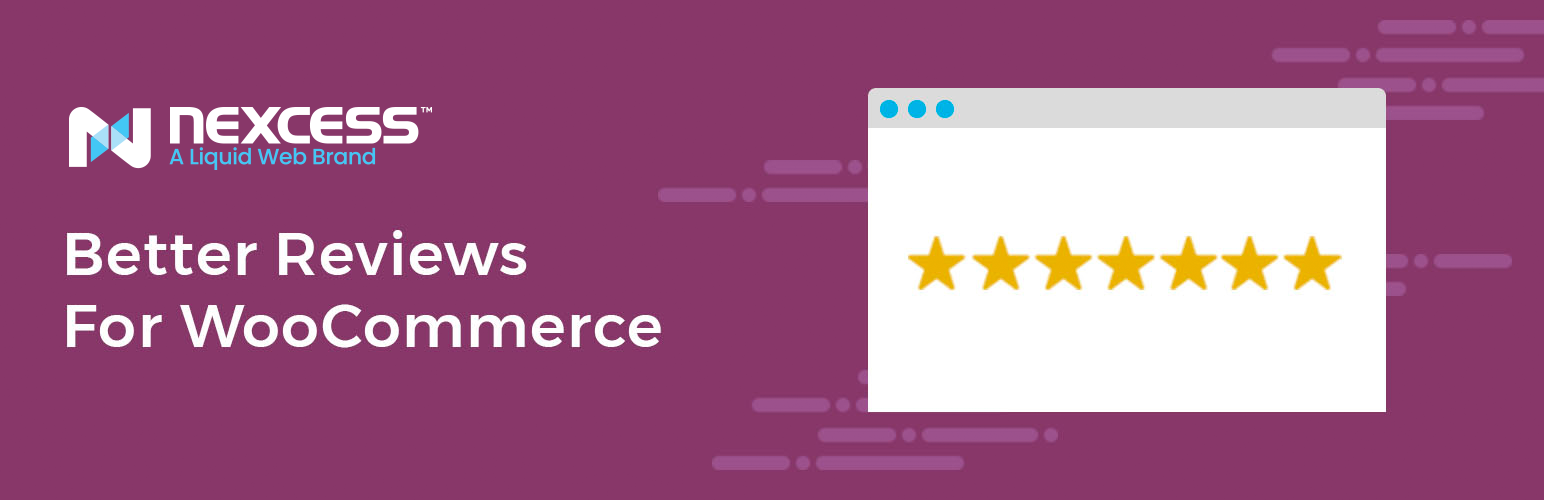 Better Reviews For WooCommerce