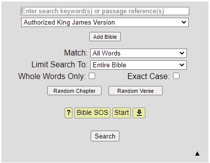 Bible SuperSearch