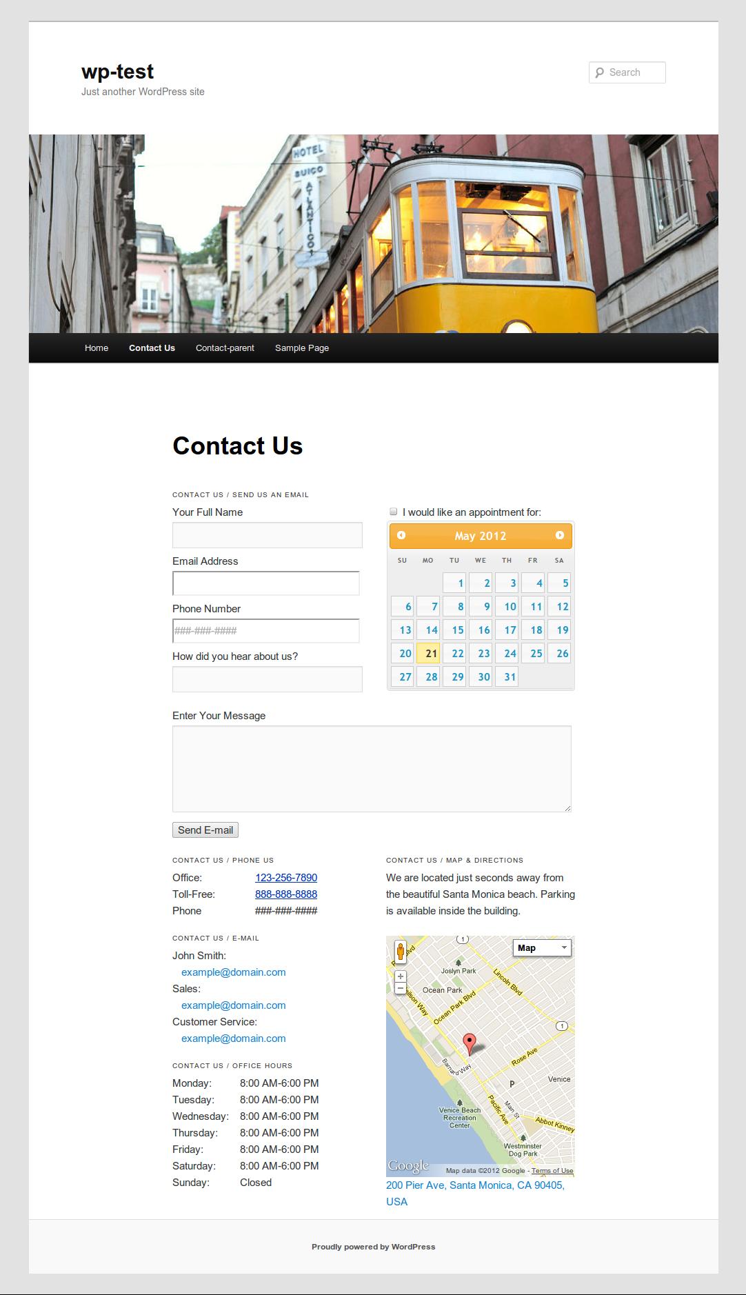 bigcontact contact page wordpress plugins