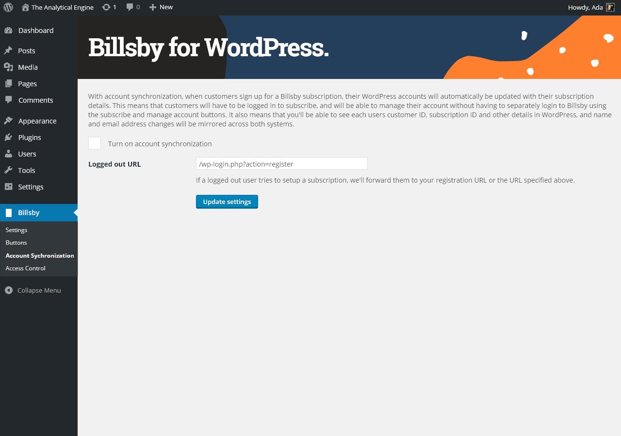 Billsby – WordPress plugin   WordPress.org
