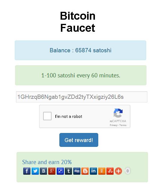 Bitcoin Faucet — WordPress Plugins