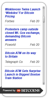 bitcoin-news-ticker-widget screenshot 1