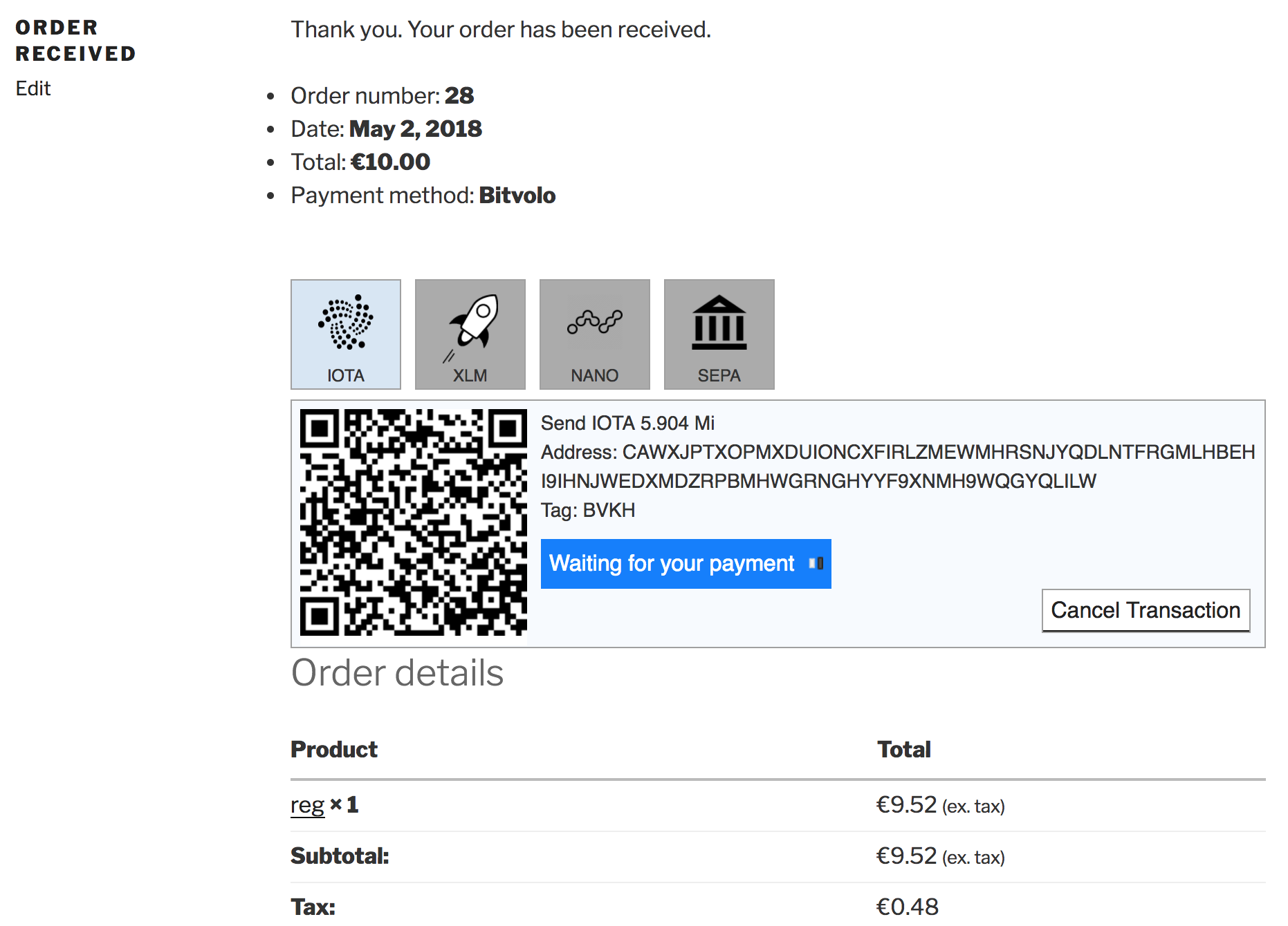 Checkout process: screenshot-1.png