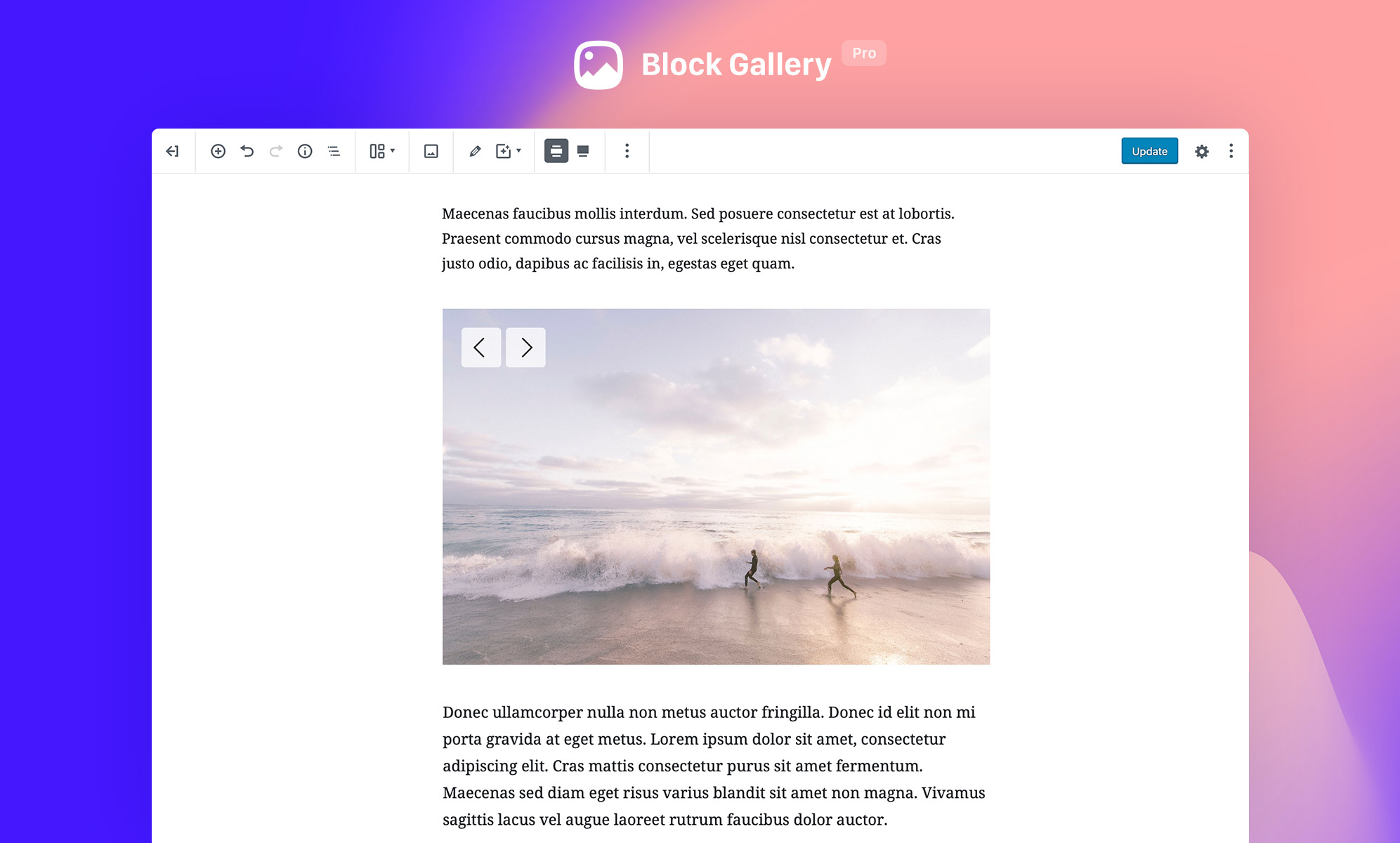 Block Gallery – Photo Gallery Gutenberg Blocks – WordPress plugin
