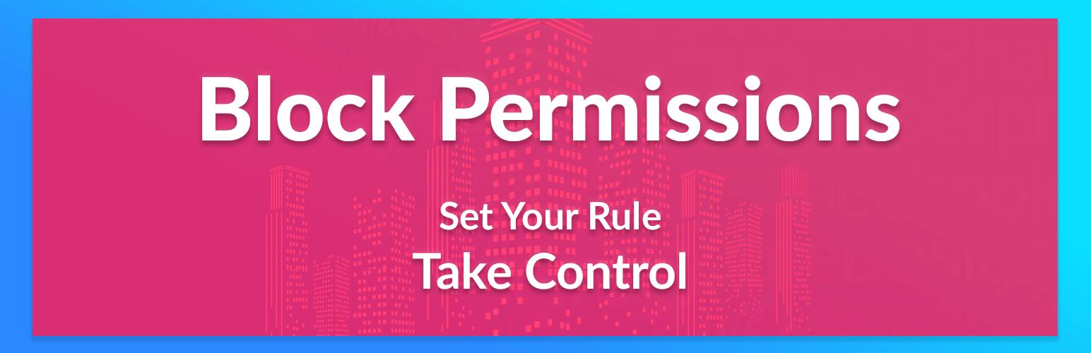 Block Permissions