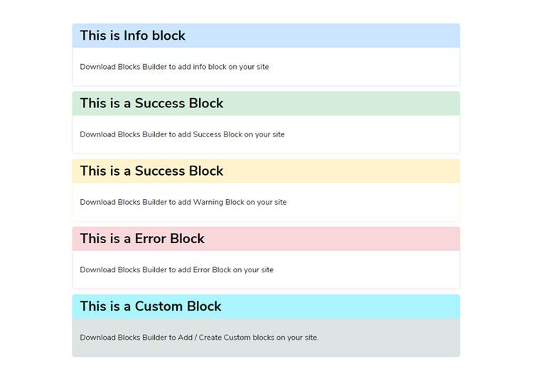 Alert Block