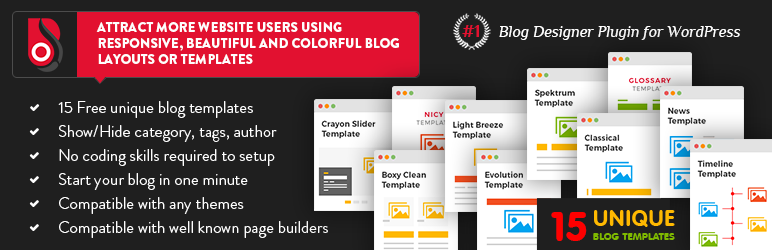 Blog Designer WordPress Plugins - Timeline blogger template