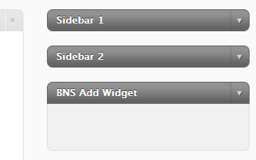 bns-add-widget screenshot 1