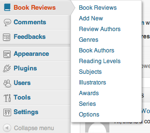 book-review-library screenshot 3