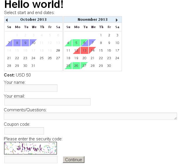 Booking Calendar Contact Form — WordPress Plugins