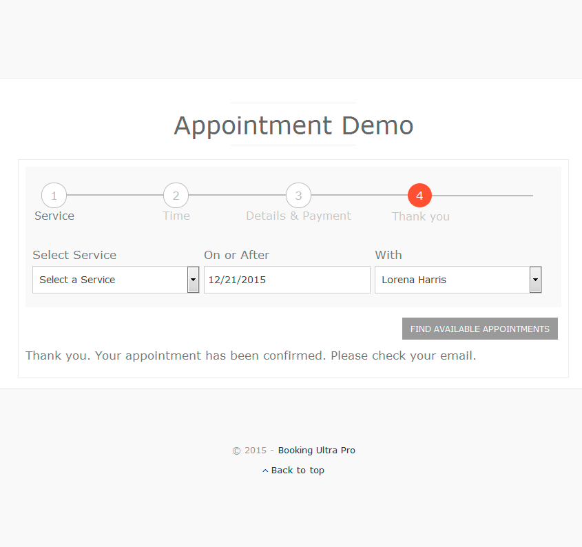 Booking Ultra Pro Appointments Booking Calendar Plugin Wordpress