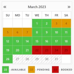 Booking Calendar logo