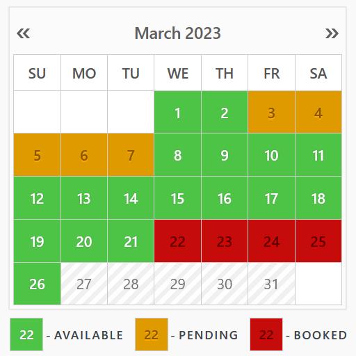 Booking Calendar – WordPress plugin | WordPress.org