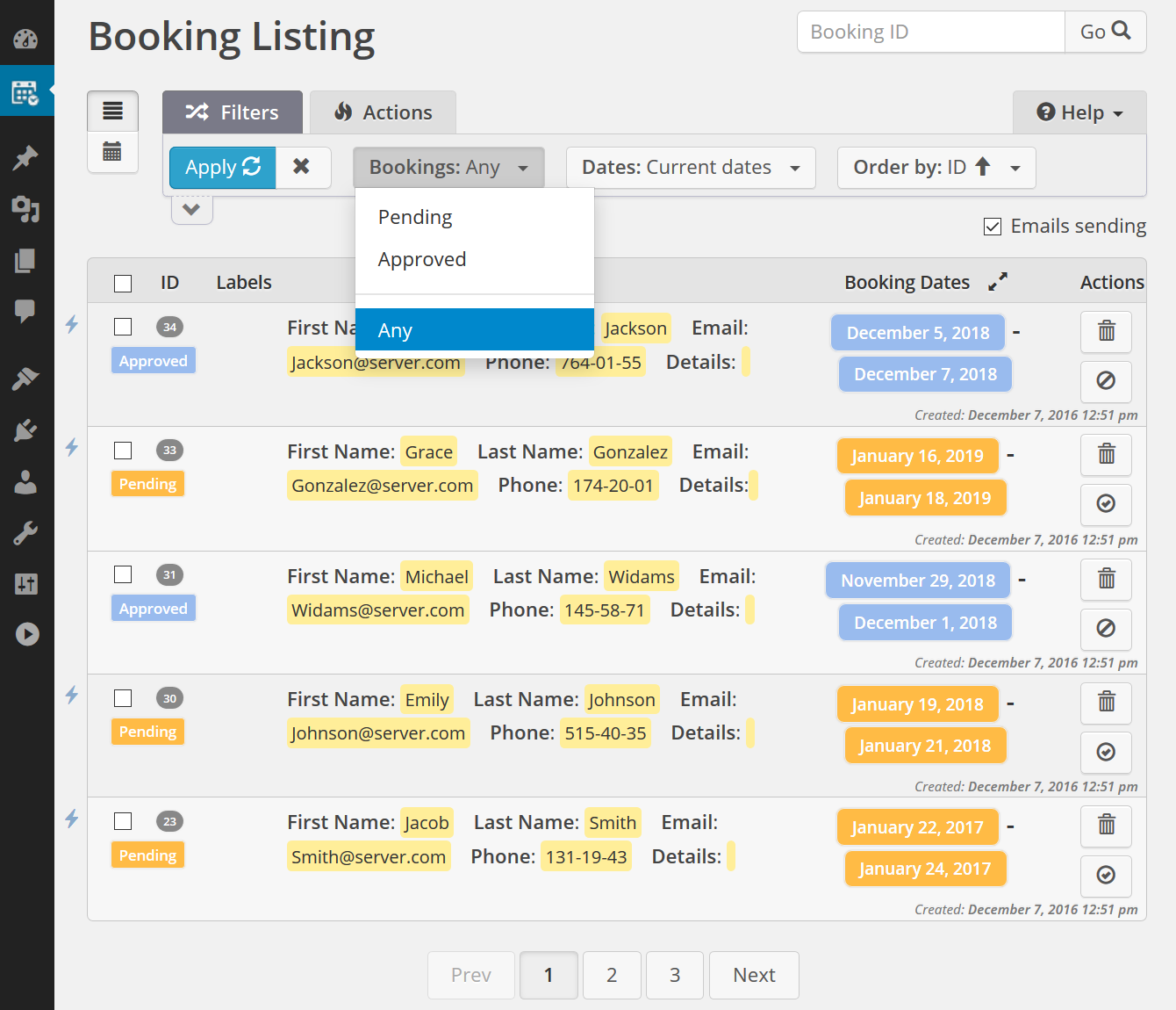 Booking Calendar – WordPress plugin | WordPress org