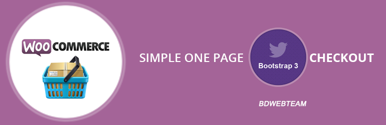 Bootstrap one page woocommerce checkout