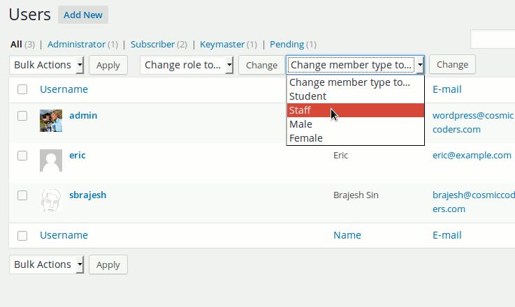 BuddyPress Member Type Generator – WordPress plugin   WordPress org