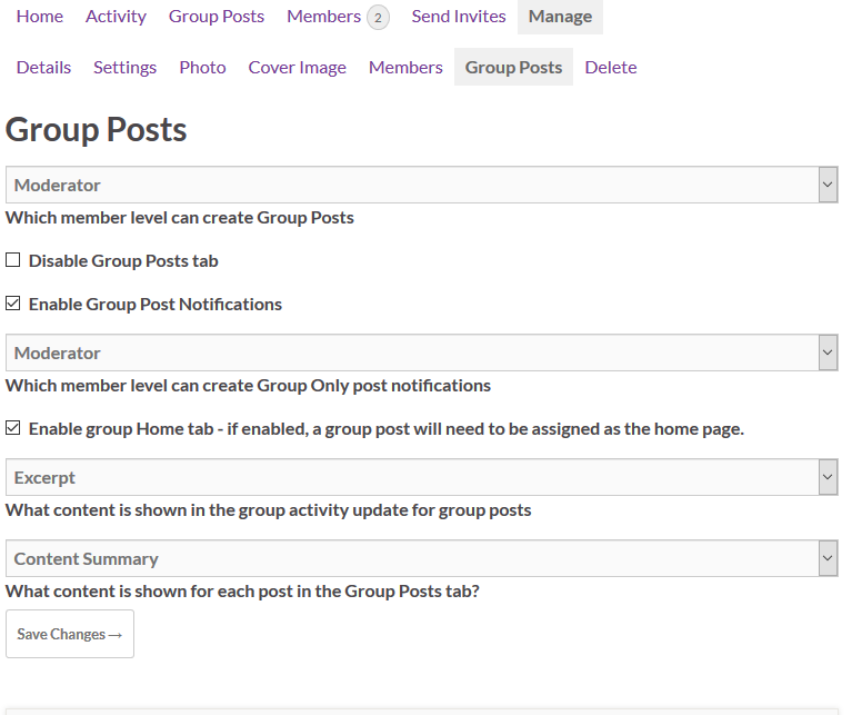 screenshot-2.png - Group settings page.