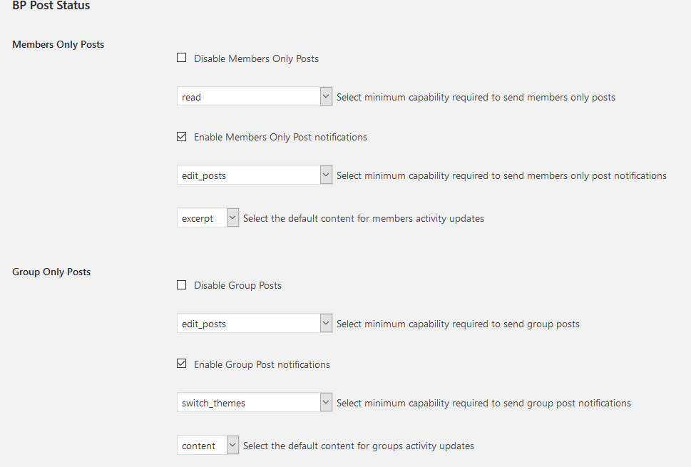 screenshot-3.png - Site settings page.
