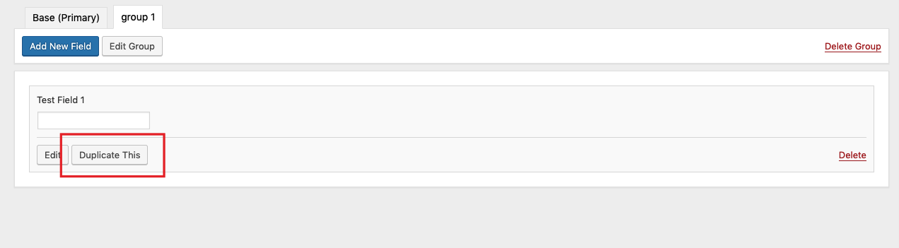 Duplicate any profile field by clicking on Duplicate This button screenshot-1.jpg.