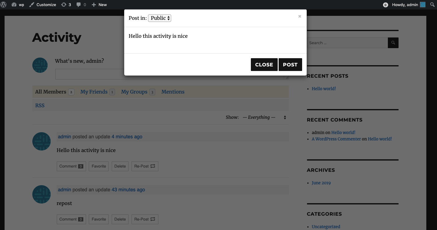 Select where to re-post screenshot-2.jpg.