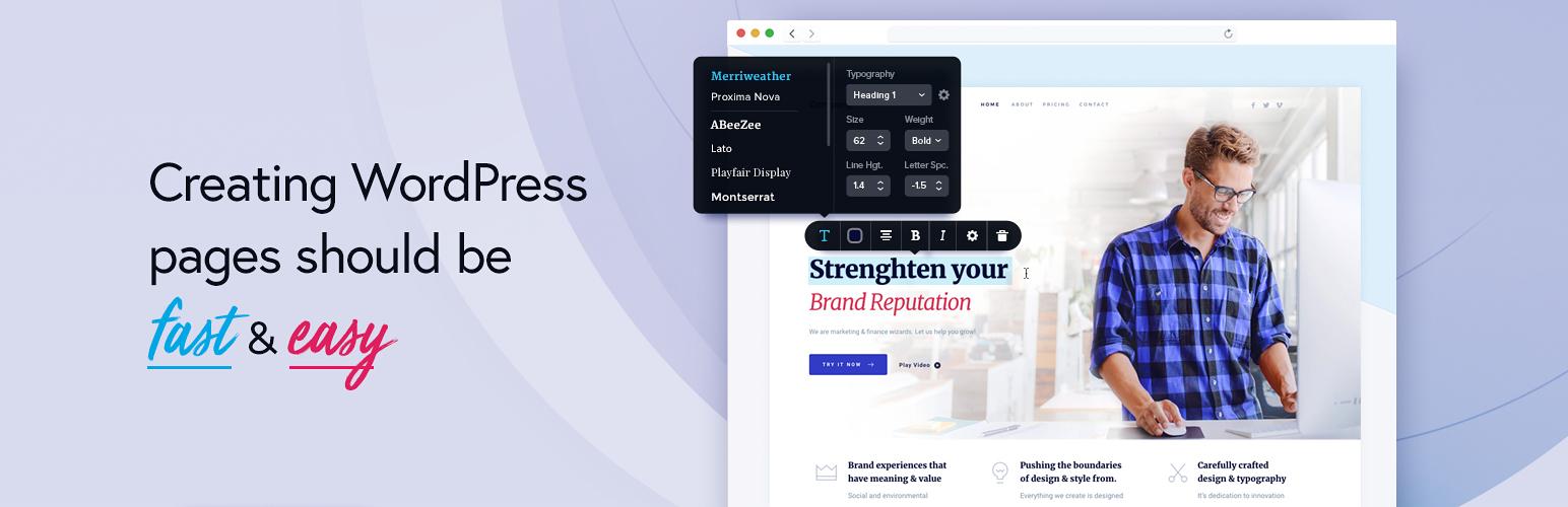 Brizy – Page Builder – WordPress plugin | WordPress.org