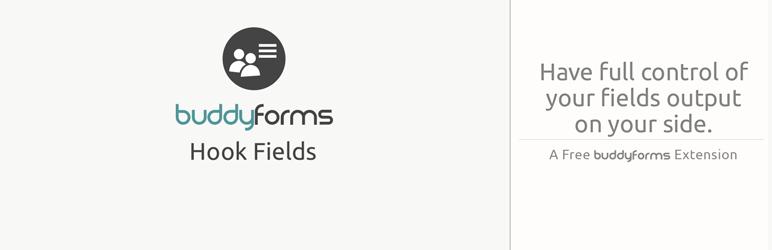BuddyForms Hook Fields