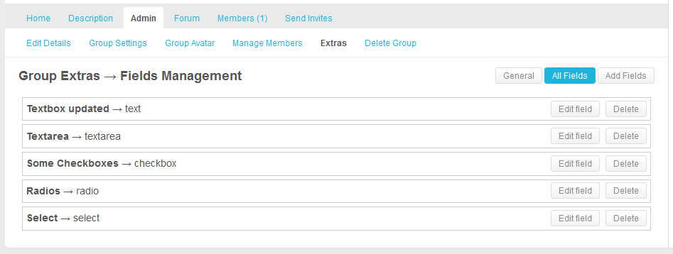 buddypress-groups-extras screenshot 3