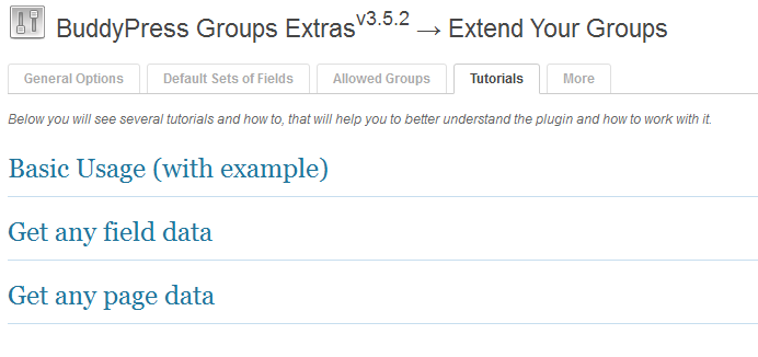 buddypress-groups-extras screenshot 6