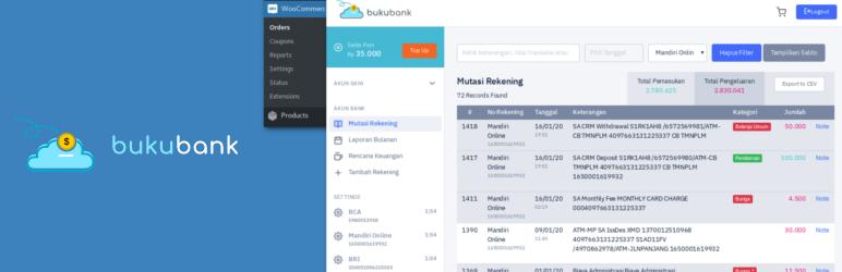 Bukubank Woocommerce – Cek Mutasi Bank dan Pembayaran Secara Otomatis Rekening Indonesia