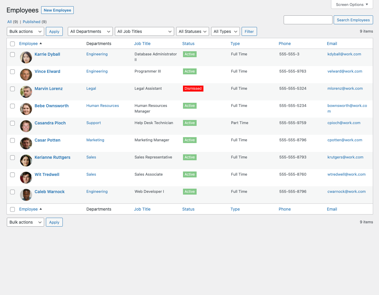 Business Manager - Project management wordpress plugin