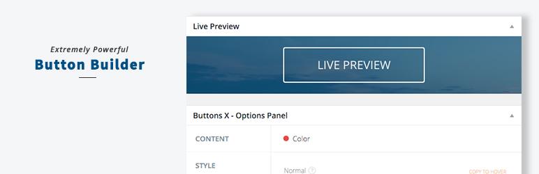 Button Builder – Buttons X