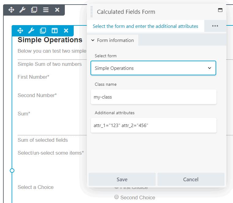 Calculated Fields Form – Extensió del WordPress | WordPress org