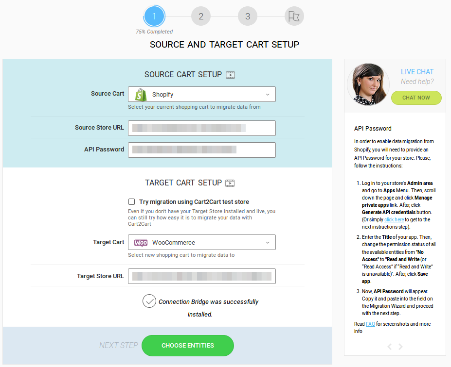 Cart2Cart: Shopify to WooCommerce Migration – WordPress plugin