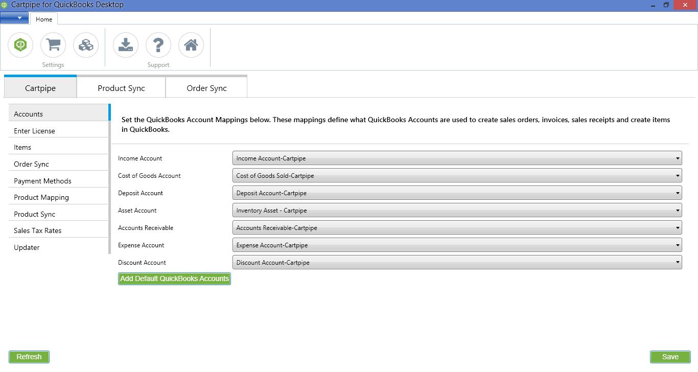 Cartpipe for Desktop App