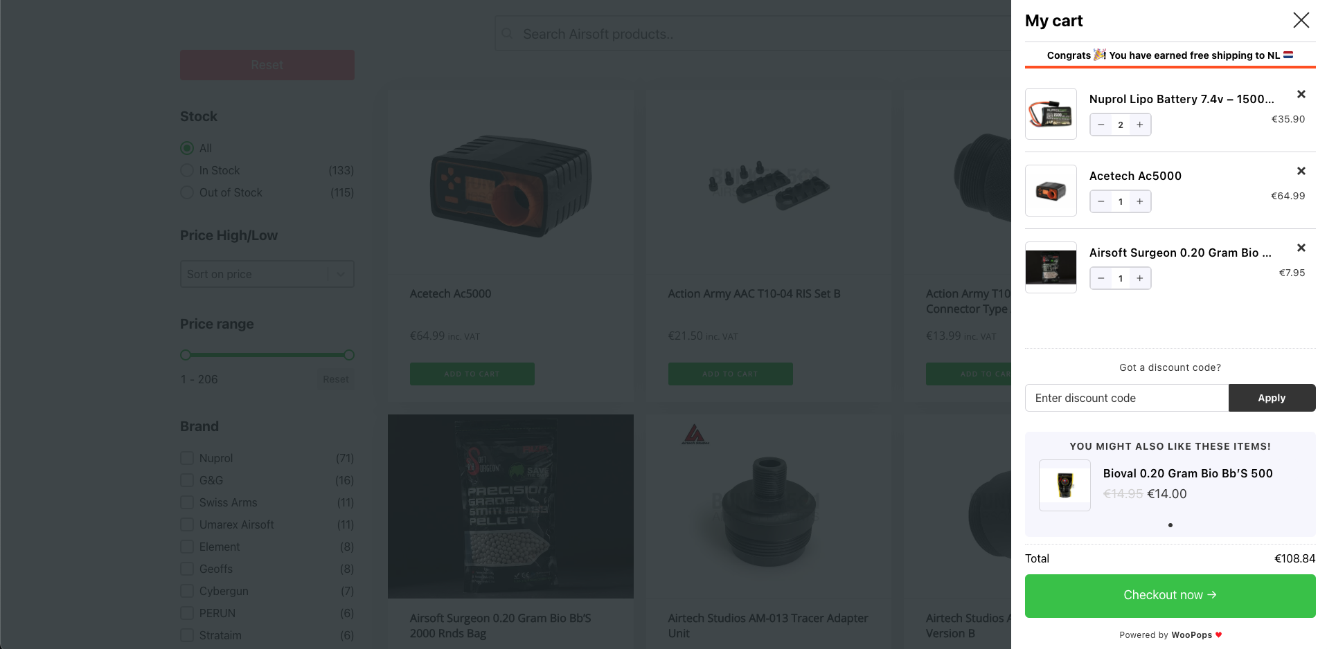 CartPops – High Converting Add To Cart Popup For WooCommerce