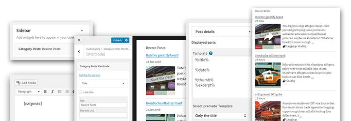 Category posts widget wordpress maxwellsz