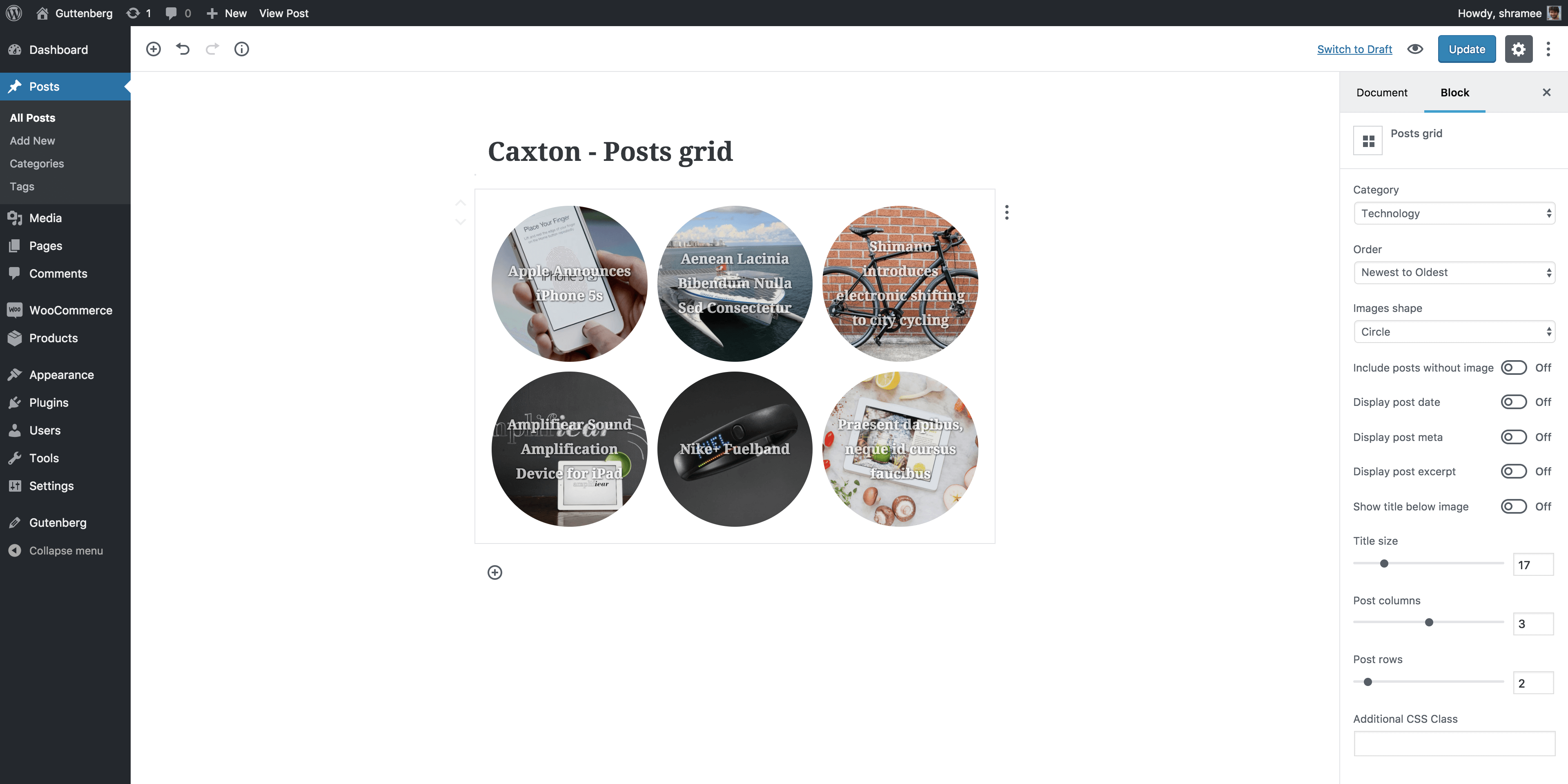 Caxton – Create Pro page layouts in Gutenberg Screenshot