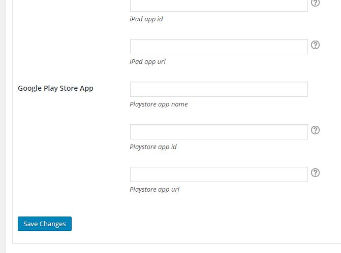 Admin - Twitter App Card Settings 2