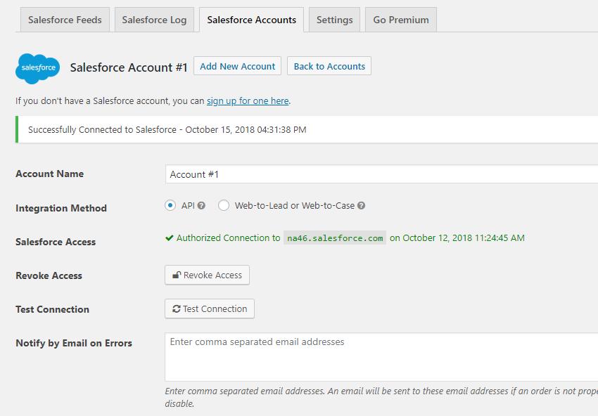 Contact Form 7 Salesforce – WordPress plugin | WordPress org