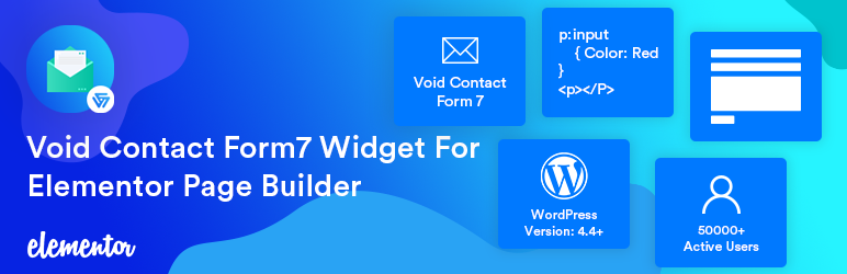 Void Contact Form 7 Widget For Elementor