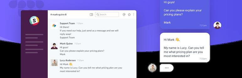 Slack Live Chat