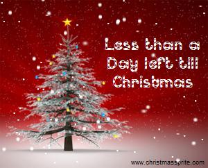 XX Days till Christmas