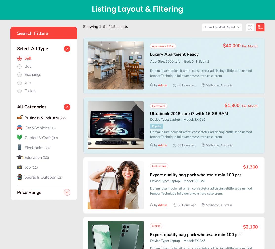 Classified Listing – WordPress plugin | WordPress org