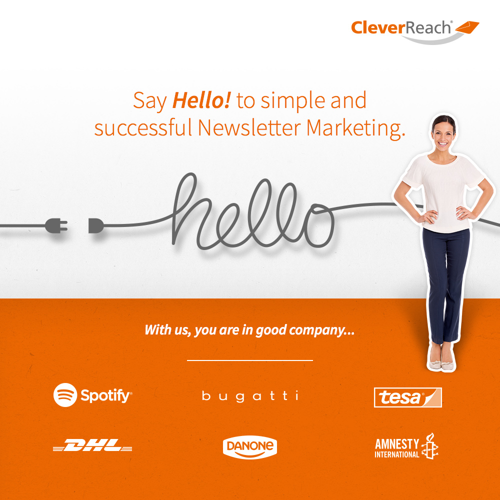 Say hello to simple email marketing